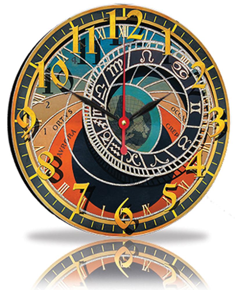 Настенные часы Декор Карпаты Разноцветный (33-72)