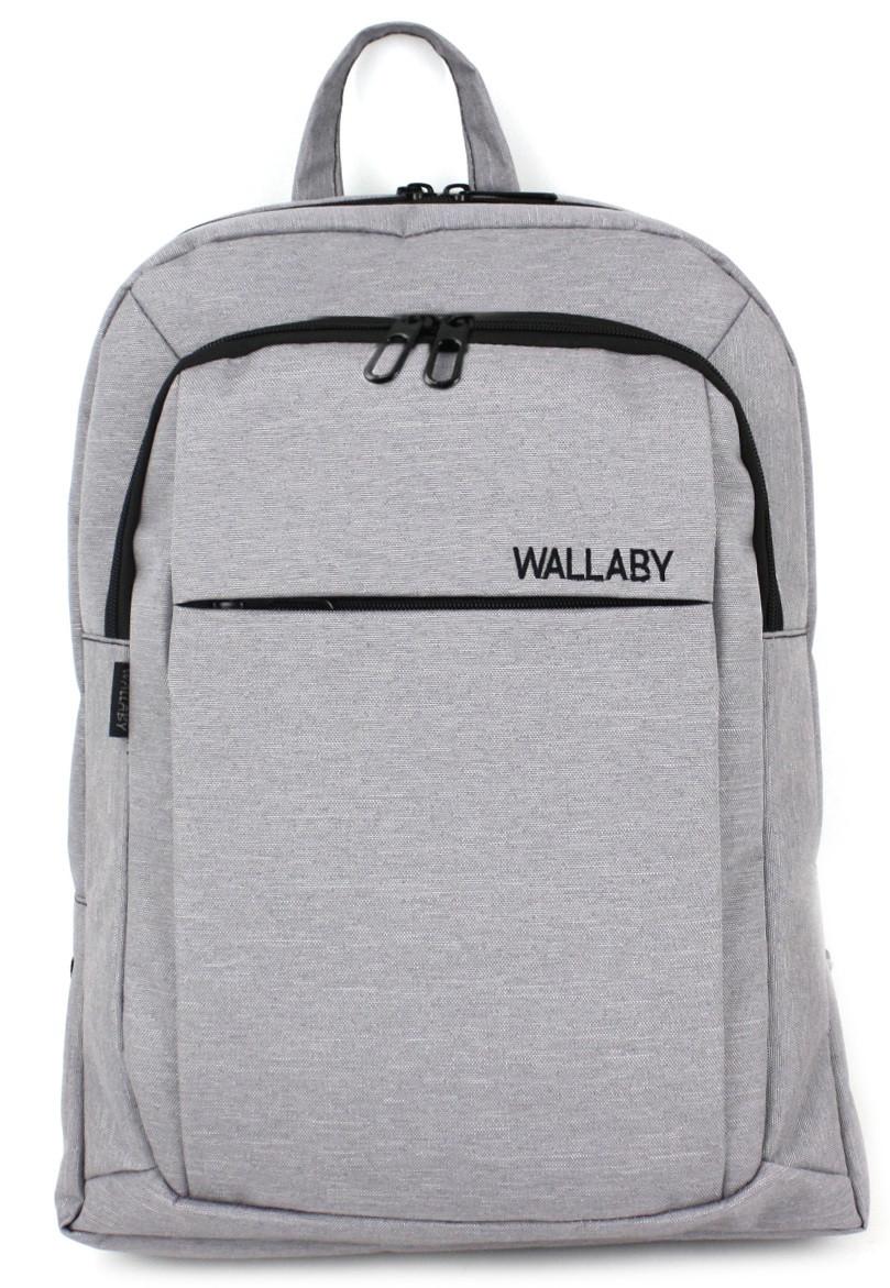 Оригинальный рюкзак Wallaby 156 серый