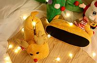 Тапочки Олени светло-коричневые 33-36, фото 1