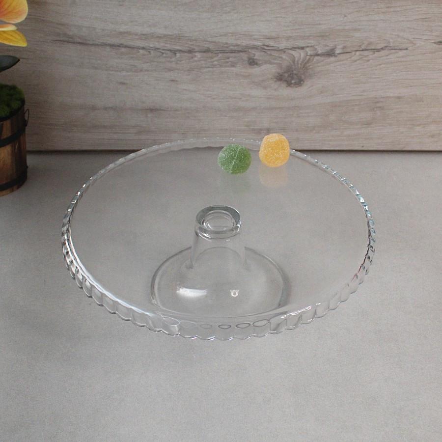 Скляна тортівниця на ніжці 32 см Pasabahce Патісерія (95117)