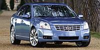 Автомобільні килимки EVA на Cadillac BLS 2006-