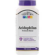 Смесь Пробиотиков Acidophilus, 21st Century, 150 капсул