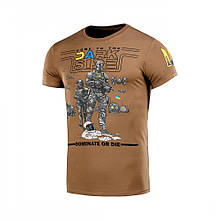M-Tac футболка UA Side Coyote Brown 2XL