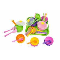 Набор посуды столовый wader 39149 Ромашка 43 элементов