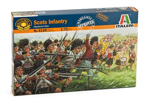 Наполеоновские войны. Шотландская пехота. 1/72 ITALERI 6136
