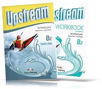 Upstream B2 Intermediate, student's book + Workbook / Підручник + Зошит англійської мови