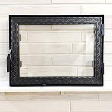 Дверца для печи со стеклом Hetta Neo  390/490мм