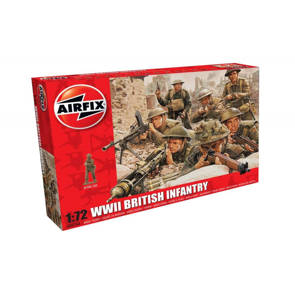 Британская пехота. Вторая мировая война. 1/72 AIRFIX 00763