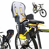 Детское велокресло TILLY Easy Fit T-841 светло-серое, фото 2