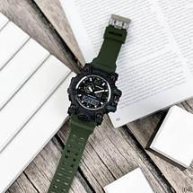 Оригінальні наручні годинники Sanda 742 Green-Black | Оригінал Санда, фото 3