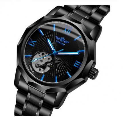 Оригінальні наручні годинники Winner W8116 Black-Blue   Оригінал, фото 2