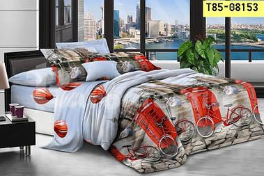 Комплект постельного белья Бязь 3D Евро