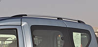 "Рейлінги на дах Renault Logan MCV 2006-2014 ""Хром"""