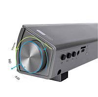 Саундбар Soundbar LP - 08 Silver 20 Вт Bluetooth с пультом дистанционного управления