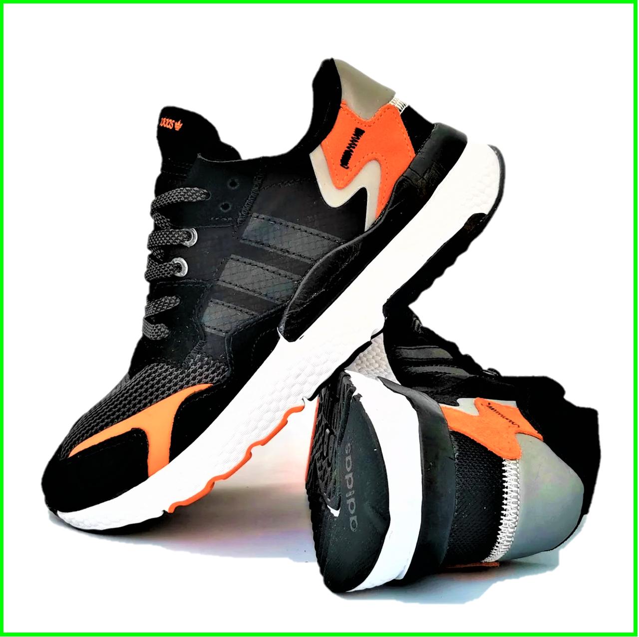 Кроссовки Мужские Adidas Jogger Чёрные Адидас (размеры: 41,42,44,45) Видео Обзор