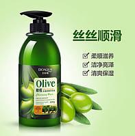 Шампунь для волос с Оливой и Аминокислотами BIOAGUA 400мл, фото 1