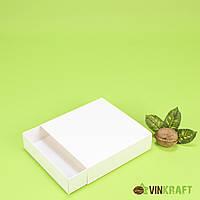 Коробка 120*120*30 для пряника, б/в біла