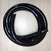 Шланг вакуумный ПВХ 11х5 мм, черный, для доильных аппаратов, фото 1