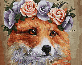 Картина по Номерам Рыжая лисичка 40х50см RainbowArt
