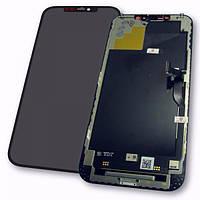 Apple Дисплей iPhone 12 Pro Max з сенсором і рамкою, чорний (оригінал), фото 1