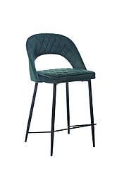 Полубарный стілець B-125 смарагд