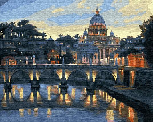 Картина по Номерам Панорама Рима 40х50см RainbowArt, фото 2