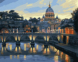 Картина за Номерами Панорама Риму 40х50см RainbowArt