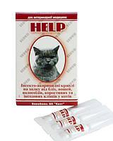 Инсекто-акарицидные капли Супер-Хелп для кошек №3 (фипронил)