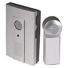 Бездротовий дверний дзвінок EMOS P5712 3x AA з кнопкою 100м Сірий
