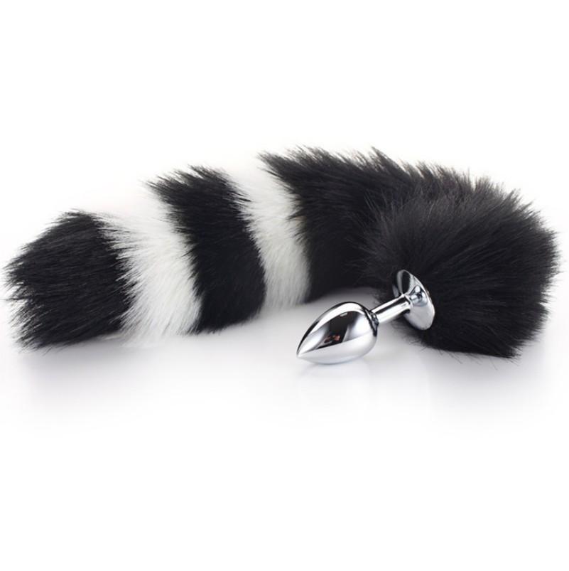 Анальная пробка с хвостиком  Fox Tail