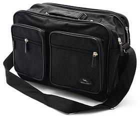 Мужская сумка Wallaby барсетка через плечо папка портфель А4 сумки мужские 8w2647 черная