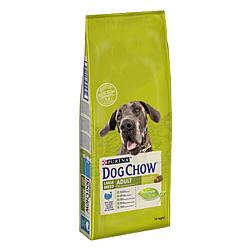 Корм Dog Chow Adult Large Breed Дог Чау для дорослих собак великих порід з індичкою 14 кг