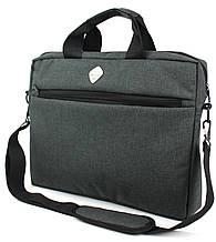 Сумка для ноутбука 15,6 дюймов Wallaby 10587-1 серая