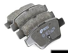 Колодки тормозные задние BYD G6