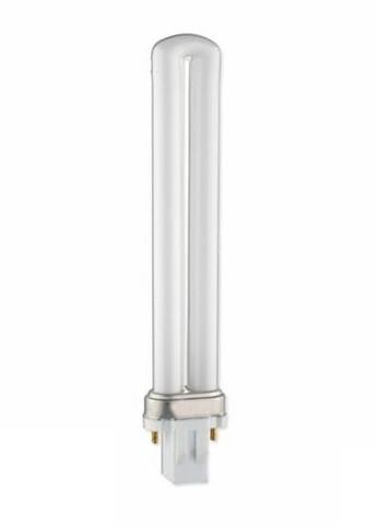 Компактная люминесцентная лампа PL 9W Delux G23 6400K неинтегригованная