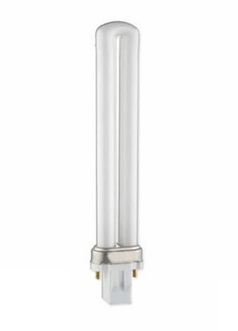 Компактная люминесцентная лампа PL 9W Delux G23 6400K неинтегригованная, фото 2