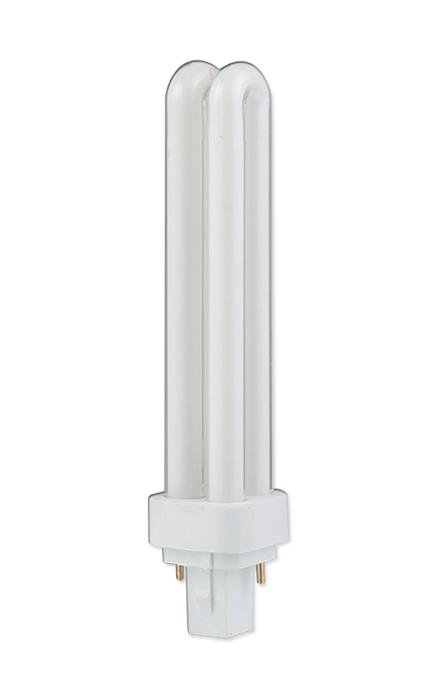 Компактная люминесцентная лампа PLC 18W Delux G24d-2 6400K неинтегригованная