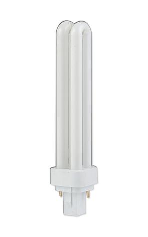 Компактная люминесцентная лампа PLC 18W Delux G24d-2 6400K неинтегригованная, фото 2