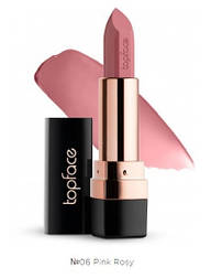 Помада для губ  006 Pink Rosy TopFace