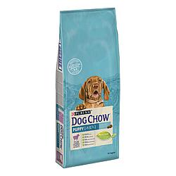 Корм Dog Chow Puppy Lamb Дог Чау Паппі для цуценят з ягням 14 кг