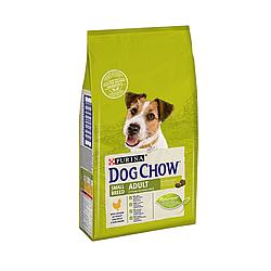 Корм Dog Chow Small Breed Дог Чау для дрібних собак з куркою 7,5 кг