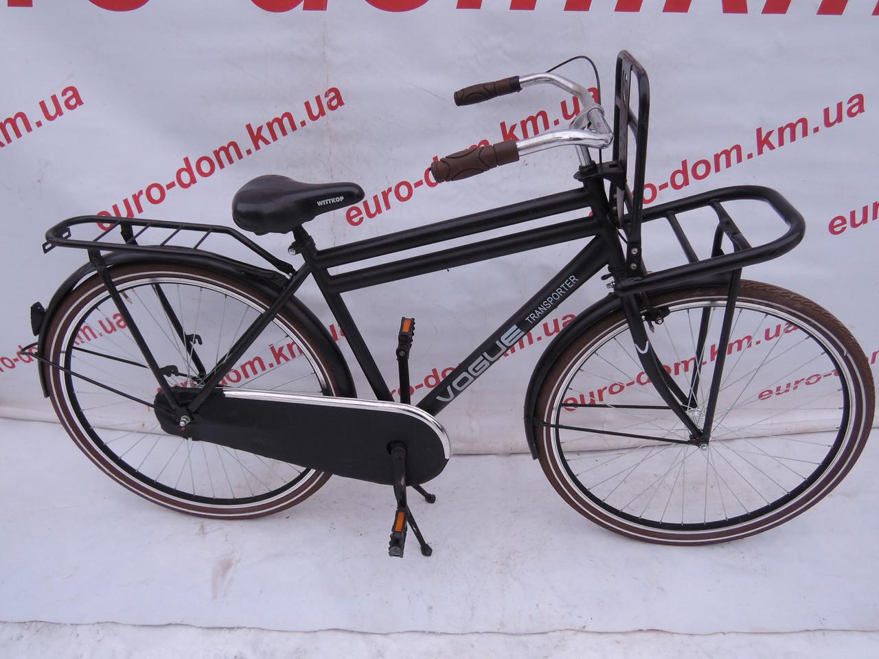 Городской велосипед Vogue 28 колеса. Простой классической велосипед