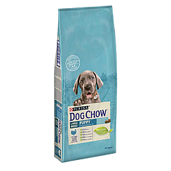 Корм Dog Chow Puppy Large Breed Дог Чау для цуценят великих порід з індичкою 14 кг