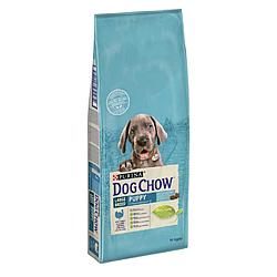 Корм Puppy Dog Chow Large Breed Дог Чау для цуценят великих порід з індичкою 14 кг