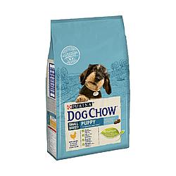 Корм Dog Chow Puppy Small Breed Дог Чау Паппі для цуценят малих порід з куркою 7,5 кг