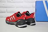 Чоловічі червоні кросівки сітка в стилі Adidas Marathon TR 30, фото 6