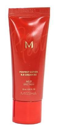 Универсальный увлажняющий ВВ-крем Missha Perfect Cover B.B Cream RX SPF42/PA++++ №27 20 мл