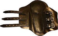 Ногавки задние (пара) кожаные