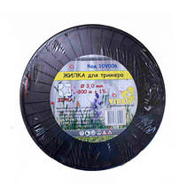 "Леска для триммера ""звезда"" 3.0 мм X 300 м ТМ ""VIROK"" 10V006 (Китай)"
