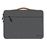 "Сумка для ноутбука Grand-X SLX-14D 14"" Dark Grey"